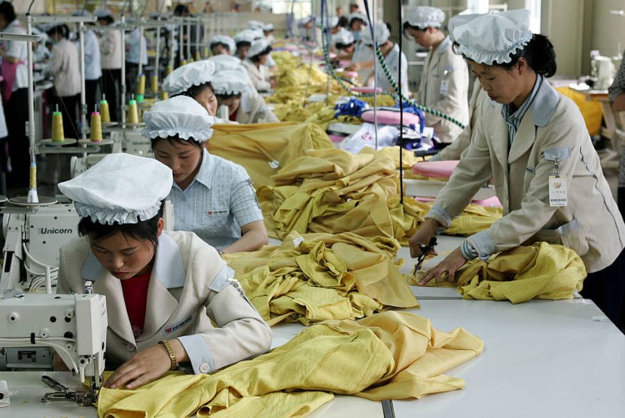 North Korean Forced Labor