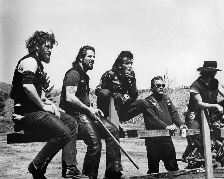 Outlaw Biker Gangs Fence