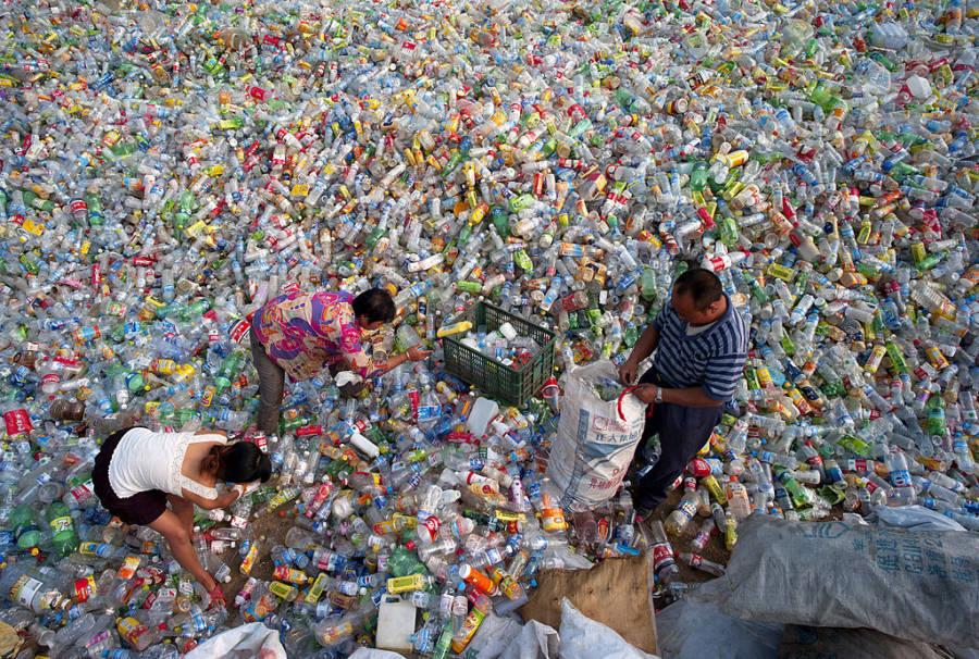 Plastic Bottle Pile