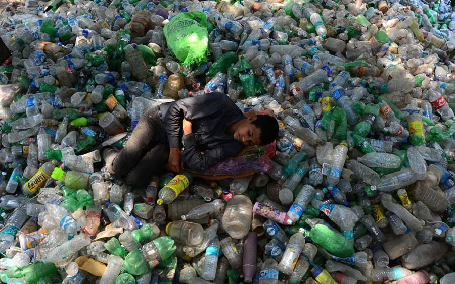 Plastic Pollution India
