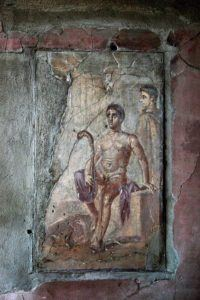 religion pompeii herc Religion: temples, household gods, foreign cults, tombs temples pompeii had 10 major temples, found mainly in or near the forum jupiter, venus, apollo, mercury and venus all had temples dedicated to them there were no services visitors might leave incense, but was mainly for rituals which were carried out by priests to honour the gods temples: capitolium: temple of jupiter.