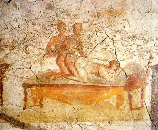 Pompeii Threesome