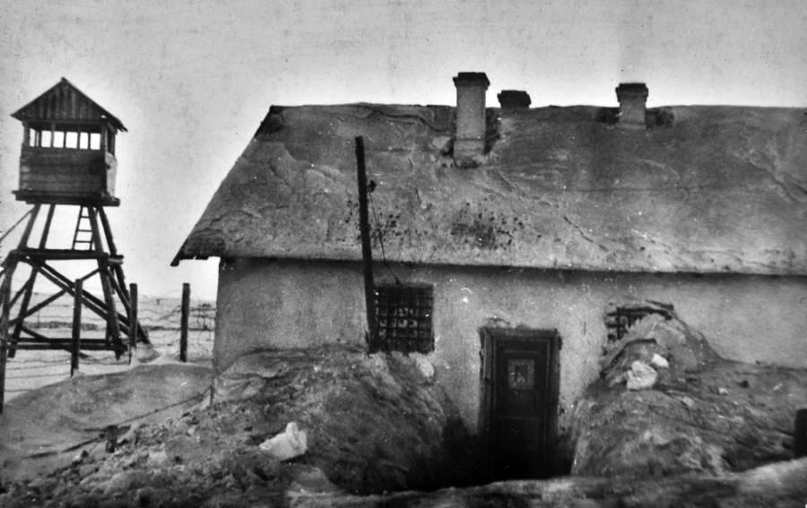 Prisoner Camp In Vorkuta