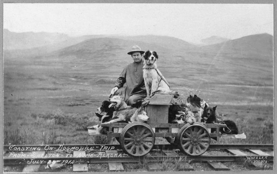 Rail Cart To Nome