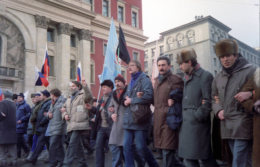 Rally On Tverskaya