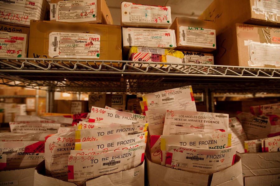 Rape Kit Backlog