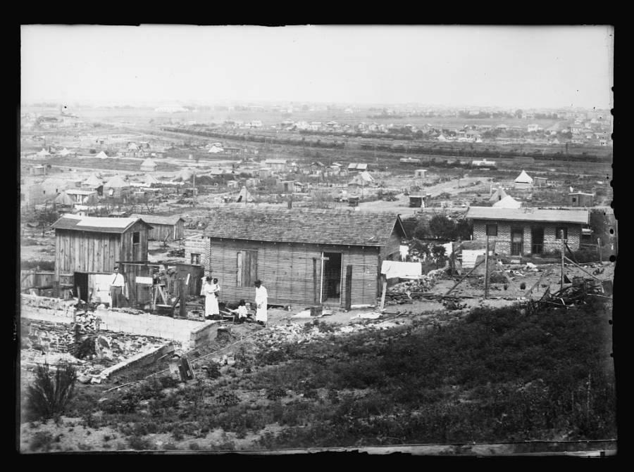 Reconstruction Of Tulsa Oklahoma
