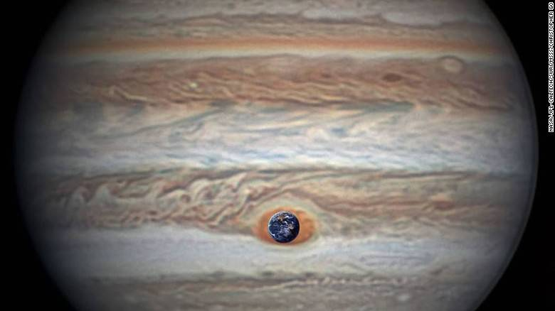 Red Spot Earth