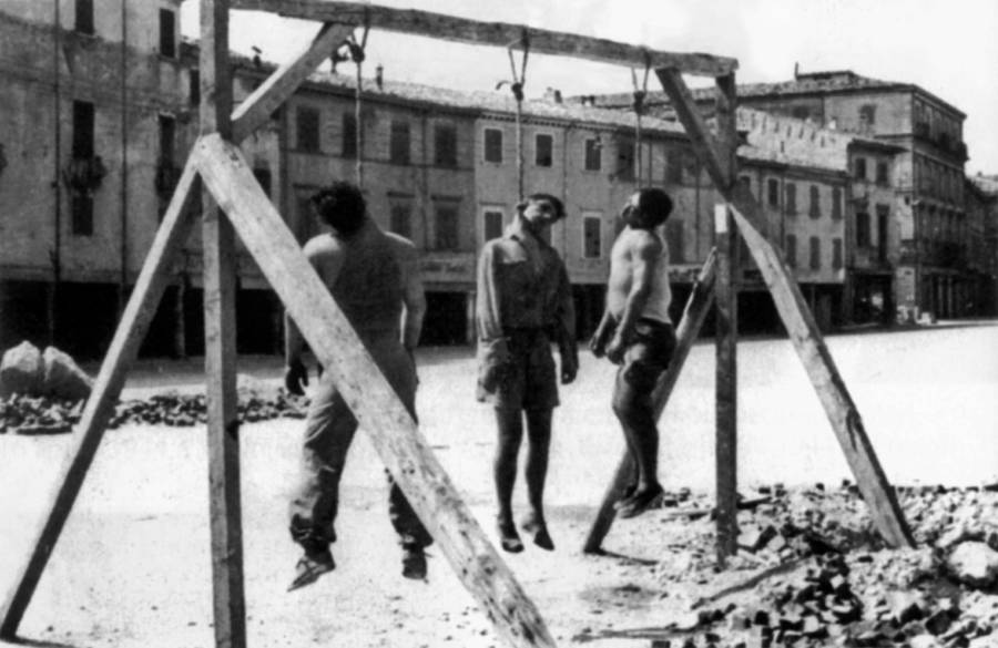 Resistance Hanged In Rome