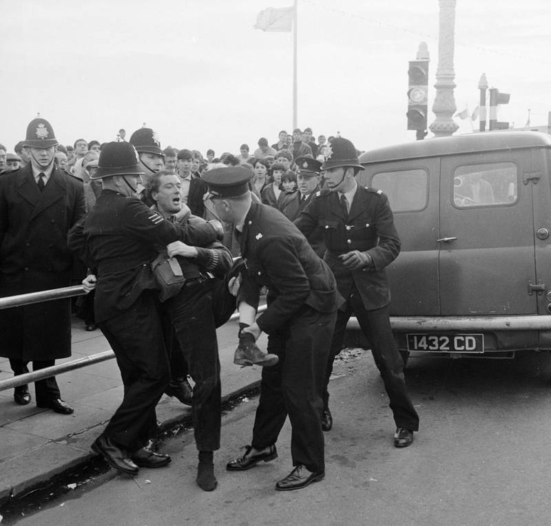Rocker Arrested By Police