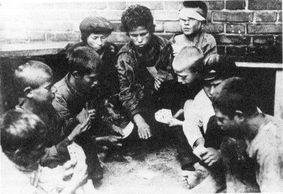 Russian Civil War Street Kids