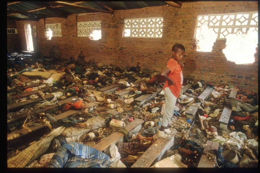 Rwanda Child In Church Disaster