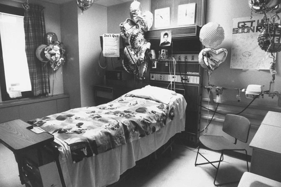 Ryan White Empty Doctors Room