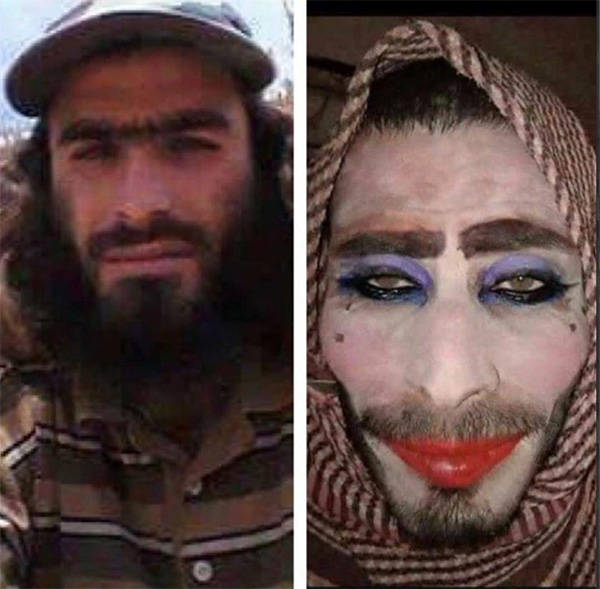 ISIS Fighters Crossdress