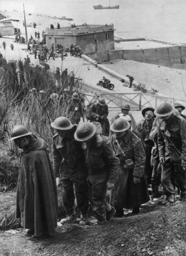 Soldiers Walking On Beach