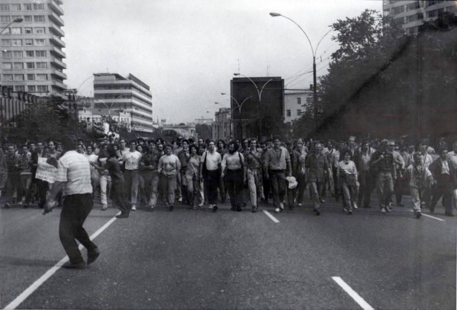 Soviet Coup Kremlin March