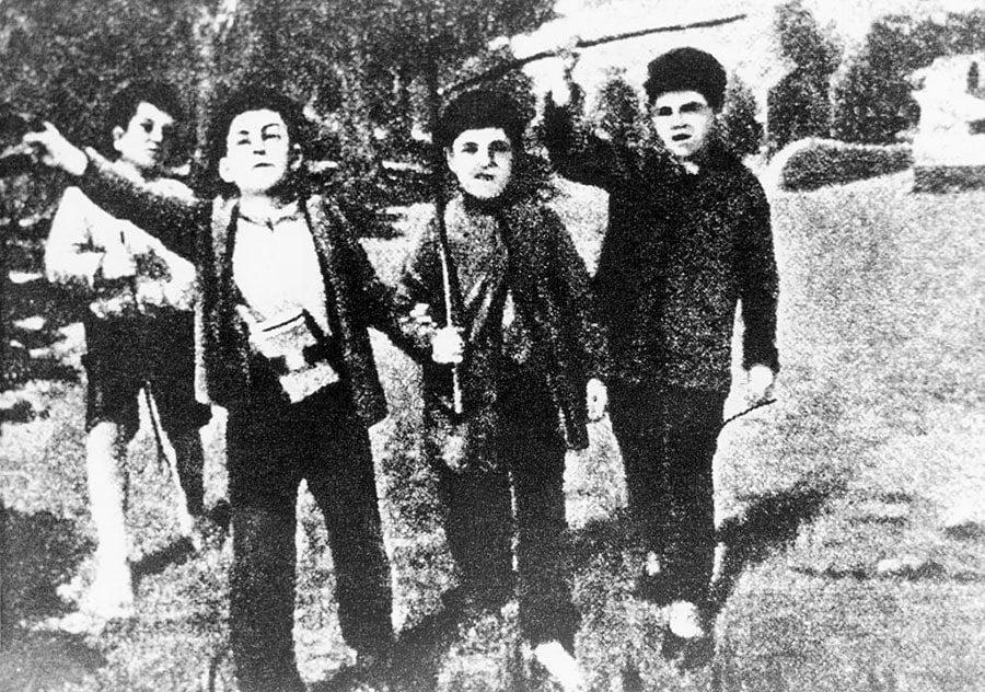 Stalin As A Little Boy