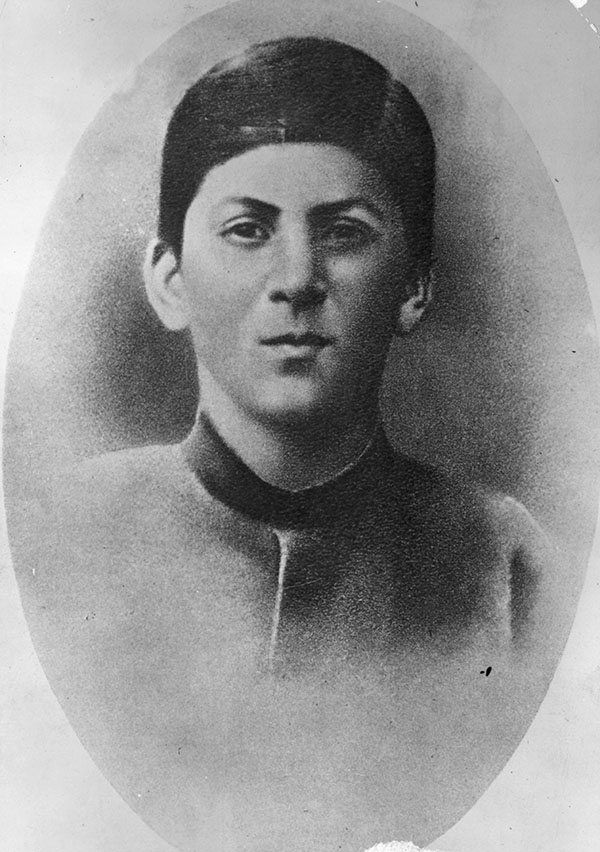 Portrait Of Young Joseph Stalin