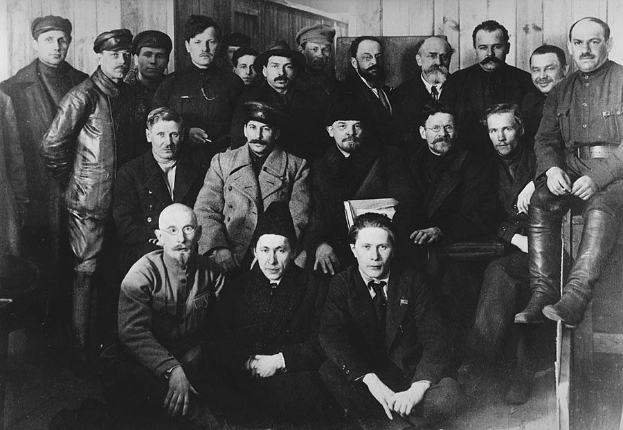 Russian Revolutionaries In 1919