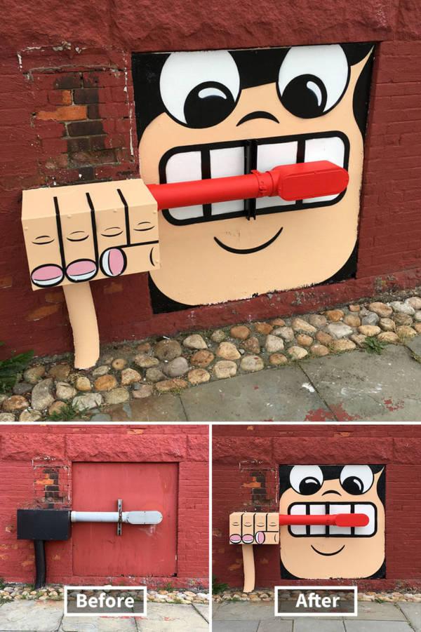 Street Art Tom Bob New York 1
