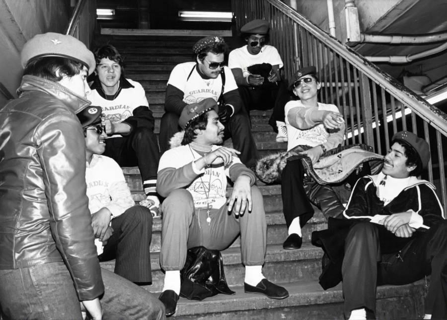 Subway Stairs Break