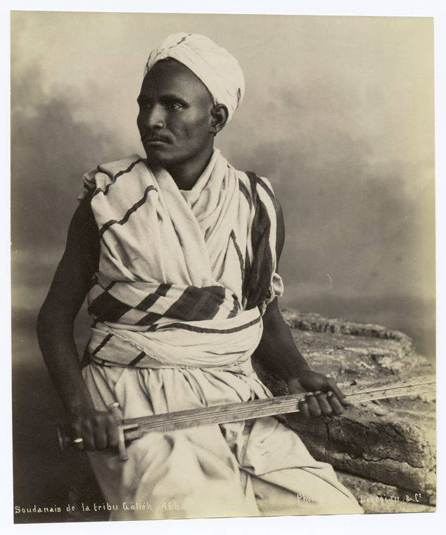 Sudanese Man With Sword
