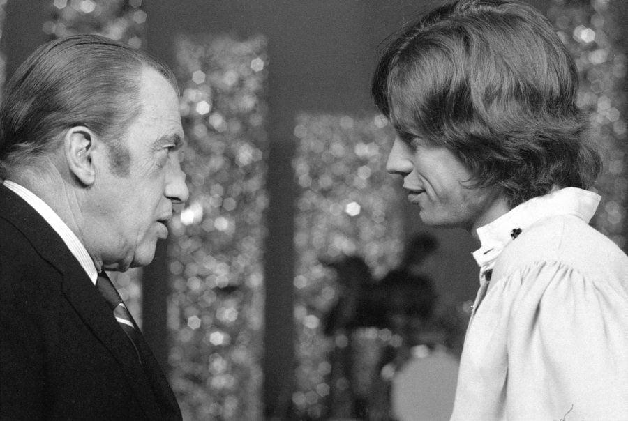 Sullivan And Jagger Chatting