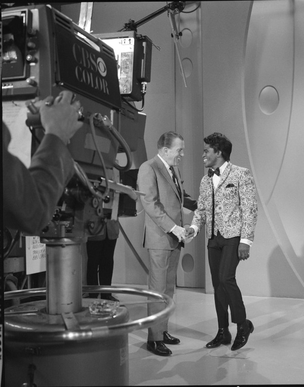 Sullivan Shaking Hands James Brown