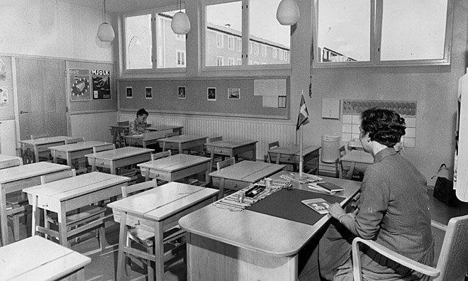 Sweden Class No Students