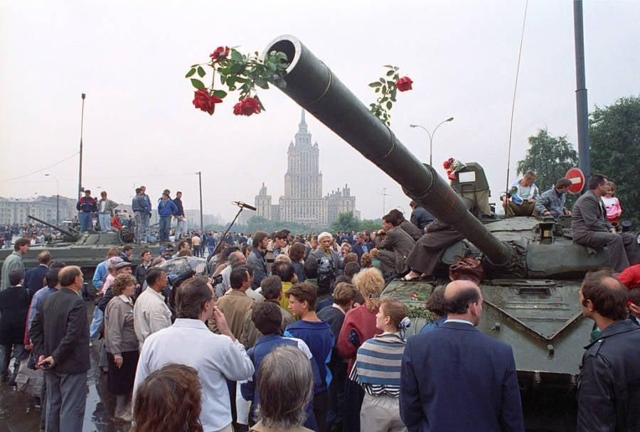 Tank Full Of Flowers