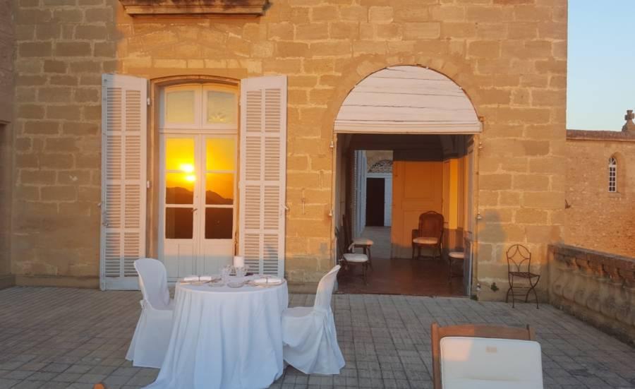 Terrace French Castle