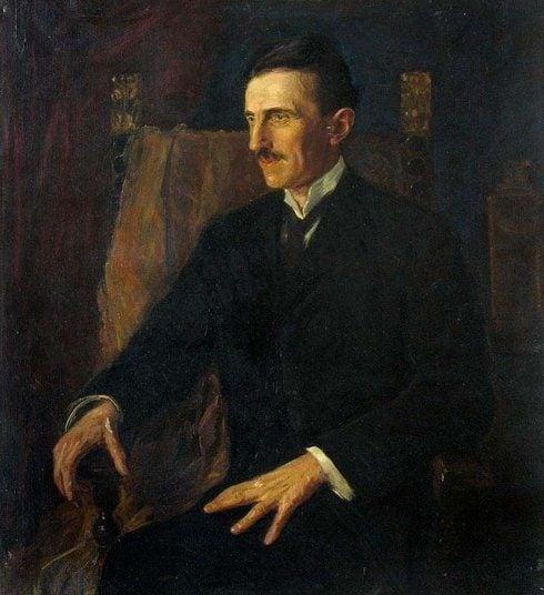 Tesla Painting