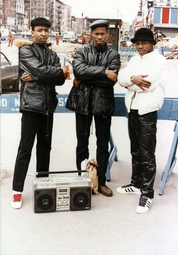 Three Men Their Boombox