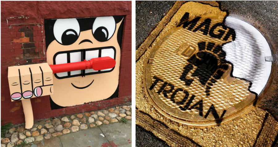 New York Painter Tom Bob Turns Found Objects Into Amazing Street Art