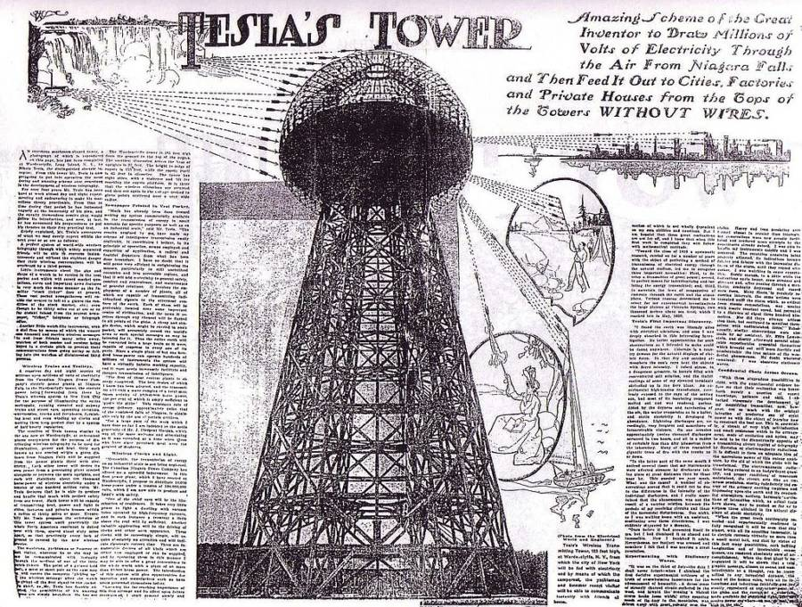 Tower Drawing Text