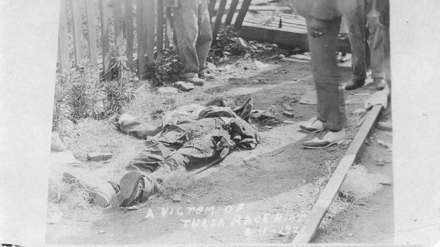 Victims Of The Tulsa Riots