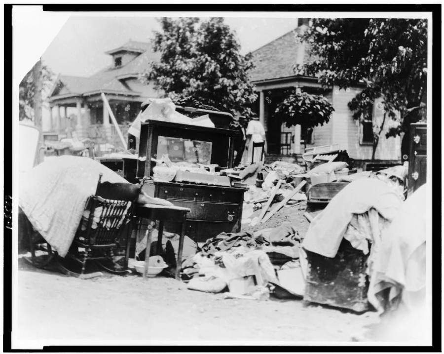 Tulsa Riot Evicted Furniture