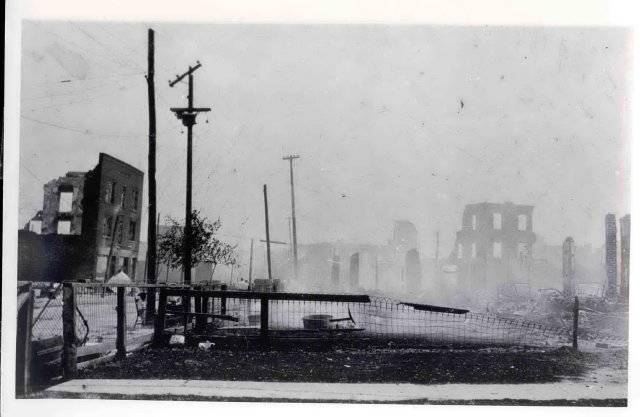 Tulsa Riot Greenwood Aftermath