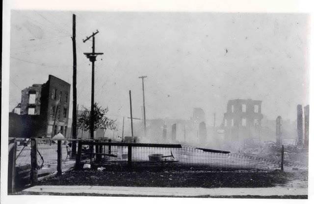 Tulsa Riot Greenwood Aftermath