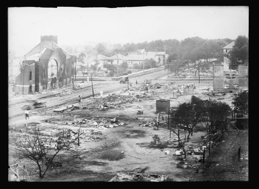 Tulsa Riot Greenwood Ruins
