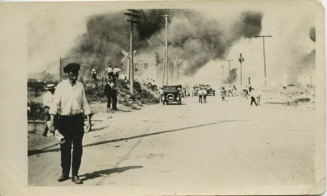 Tulsa Riots Burning