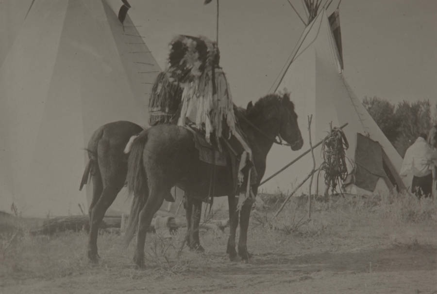 Two Riders On Horseback