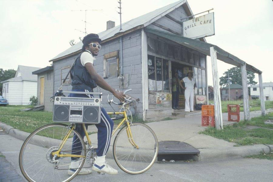 Vintage Boombox Bicycle
