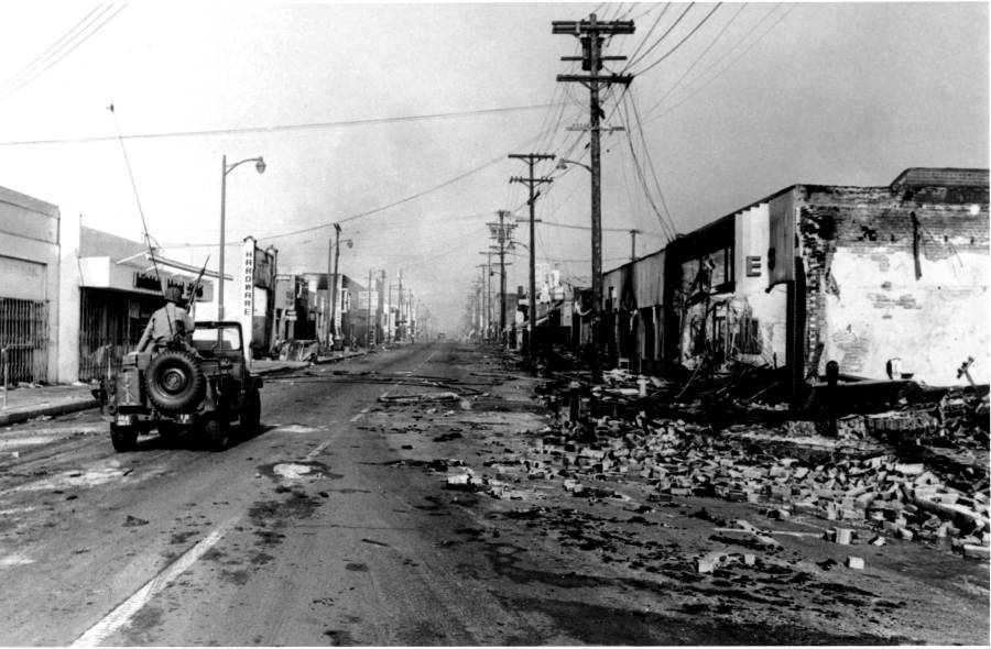 Watts Riot Aftermath