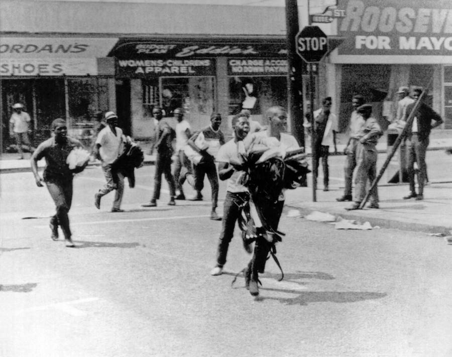 Watts Riot Looting