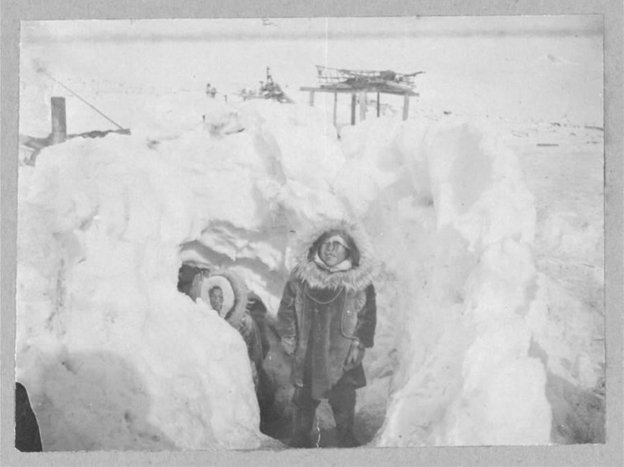 Winter Home Stebbins Alaska