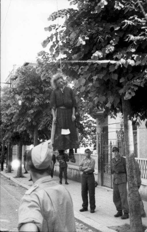 Woman In Resistance Hanging