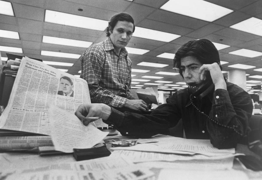 Woodward Bernstein Desk