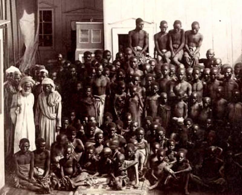 Zanzibar Slaves Captors