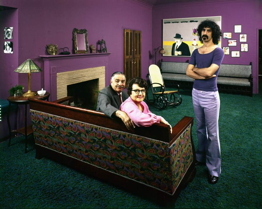 Zappa With Parents
